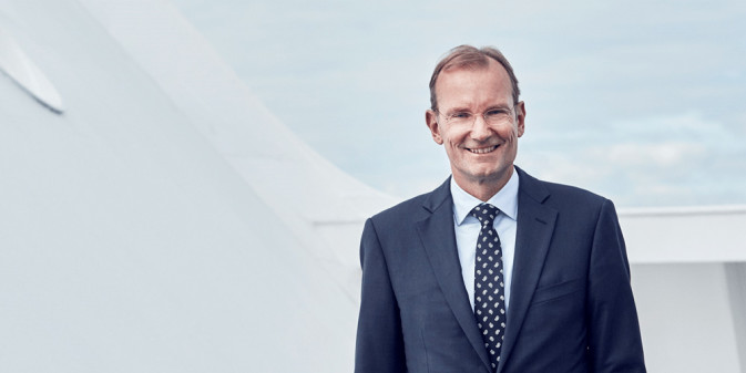 DFDS CEO Niels Smedegaard