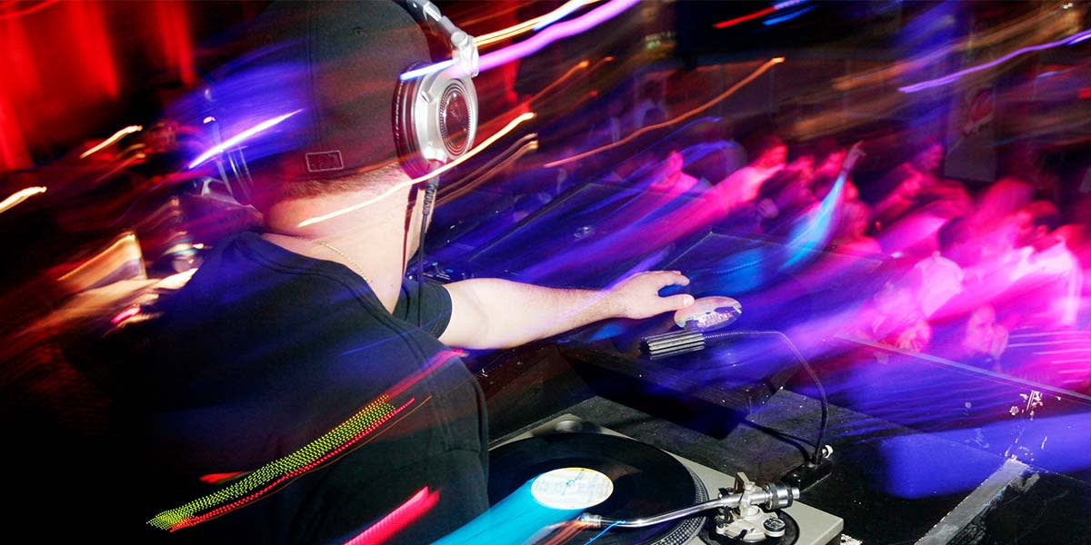 Live DJ onboard