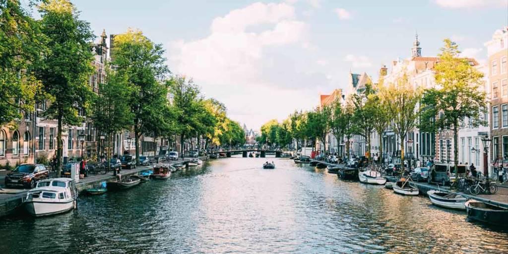 Holland i solskinnet
