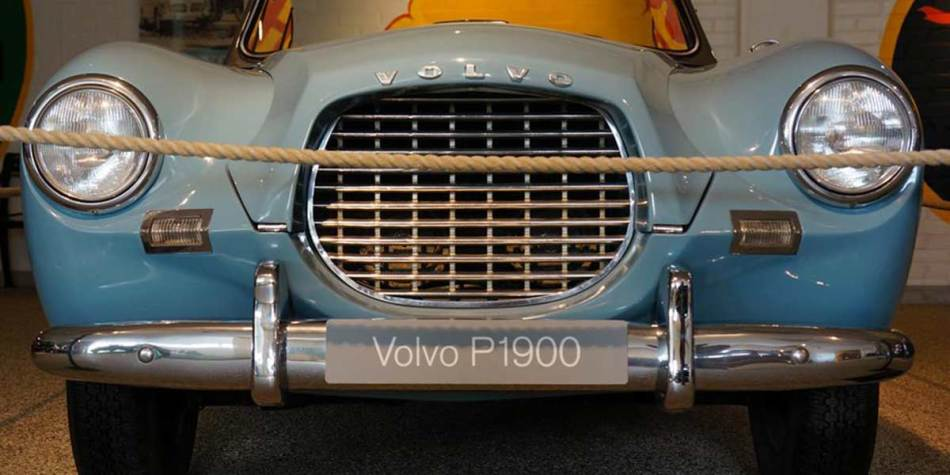 Car in Volvo museum in Gothenburg