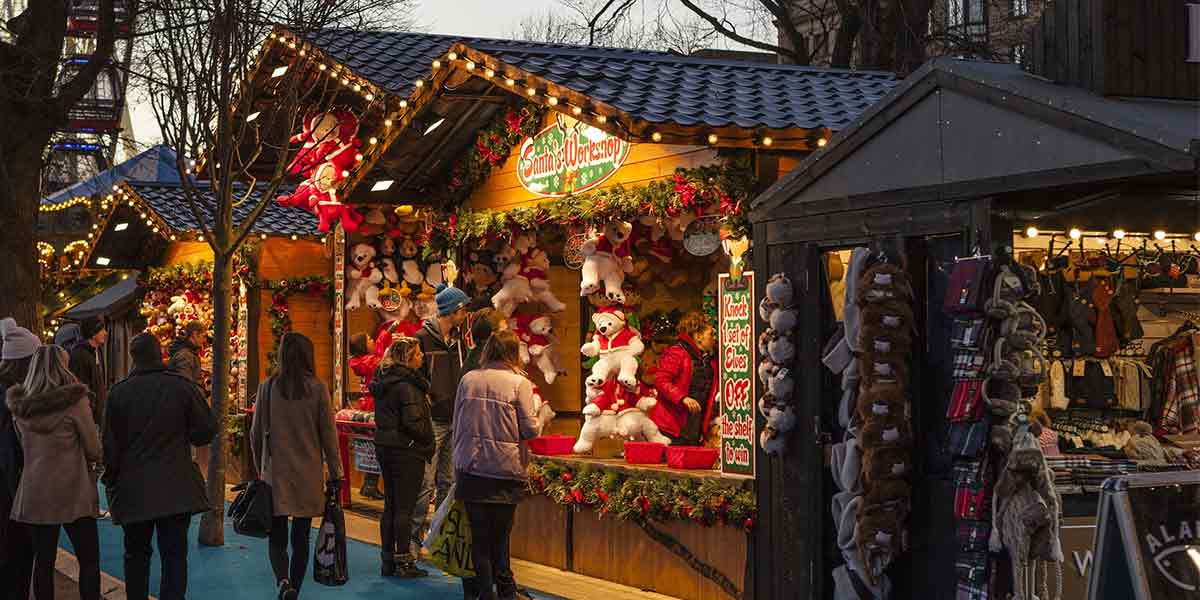 Christmas Market -Brighton