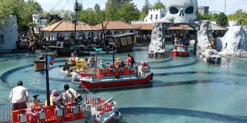 Legoland water ride