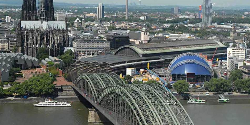 Cologne city view, Germany