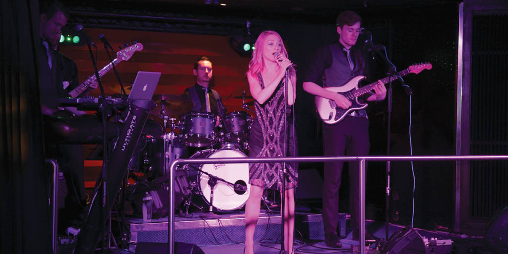 Live entertainment onboard Newcastle-Amsterdam