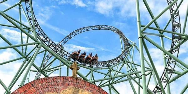 Hansa Park - rollercoaster