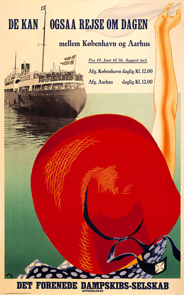 020 Poster tradition, De kan ogsaa rejse om dagen