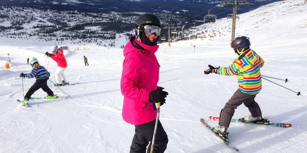 Skiing in Norway - Trysil