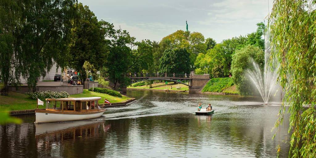 River in Latvia