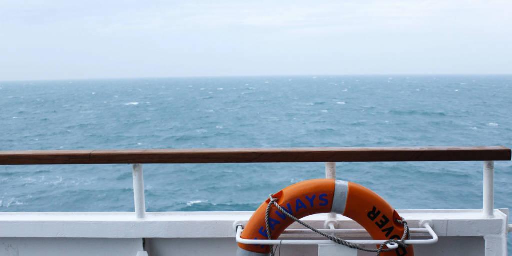 Enjoy the open sea onboard DFDS ferries
