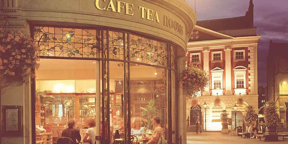Betty's tea room in York