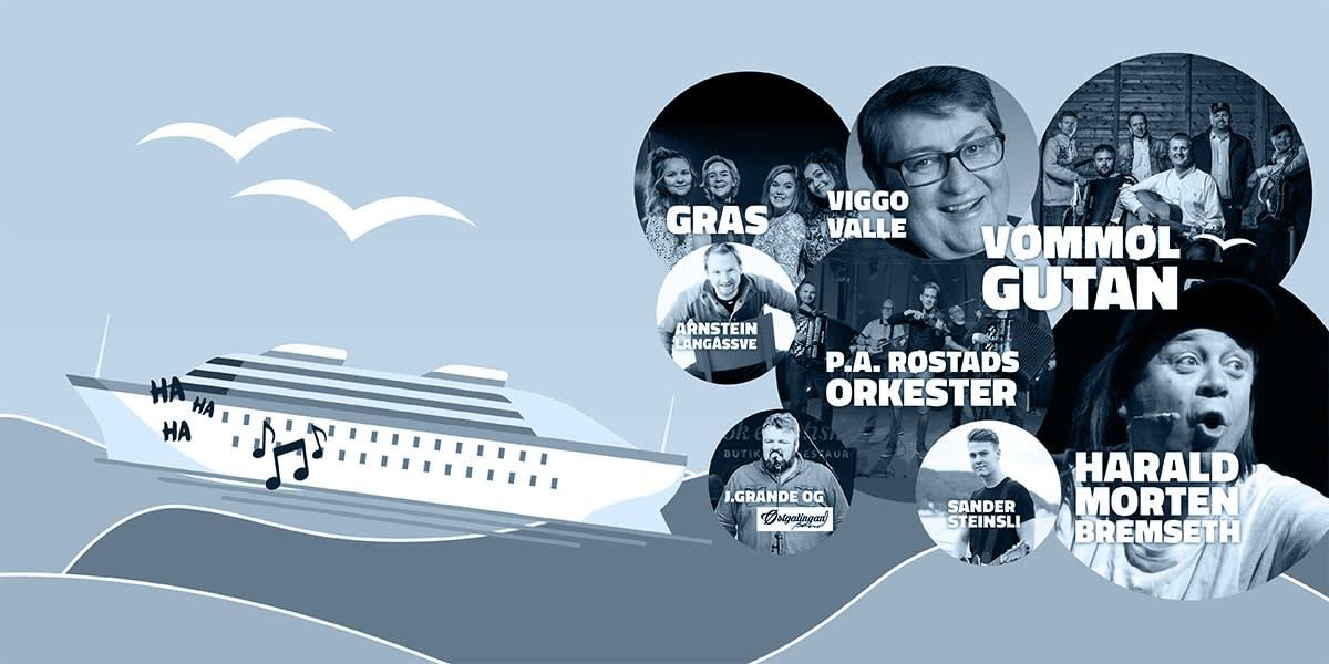 Alle artister på TrønderCruise