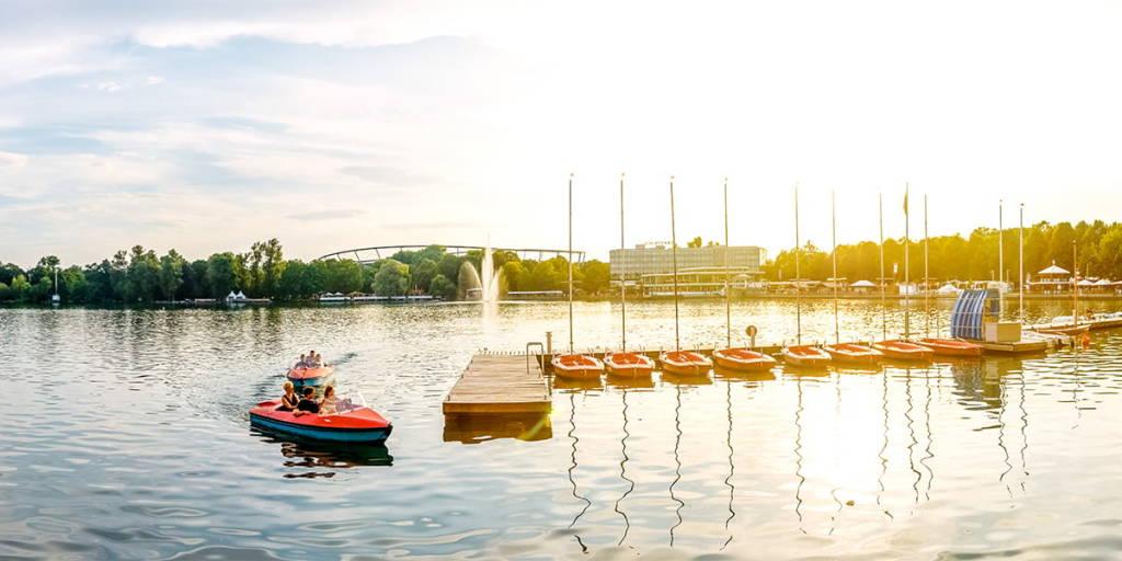 Maschsee Lake, Hanover