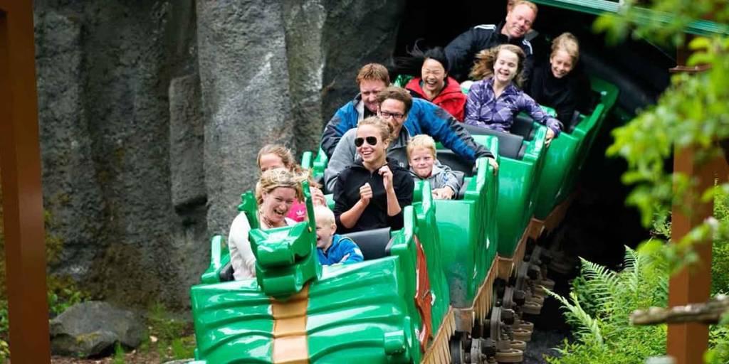 legoland dragon rollercoaster