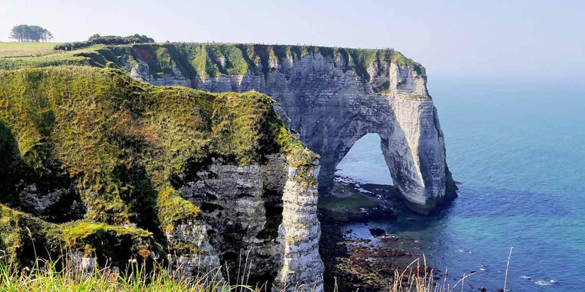 Coastline in France