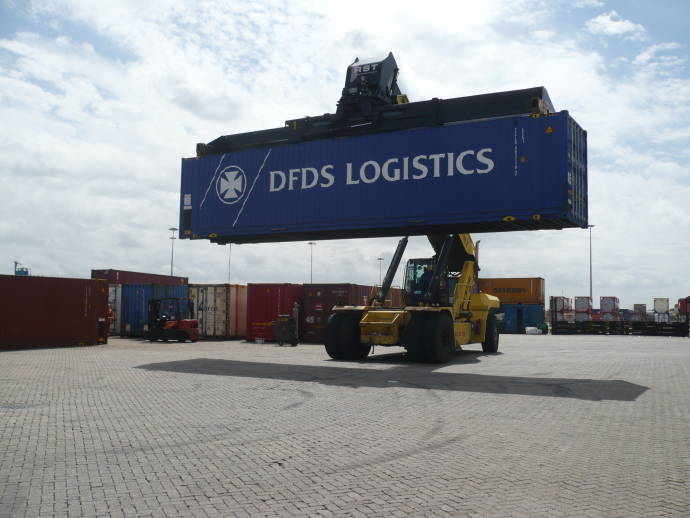 DFDS SOLAS weight system