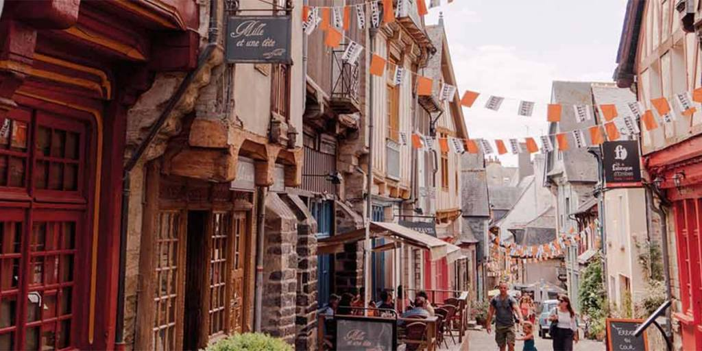 Town in Brittany