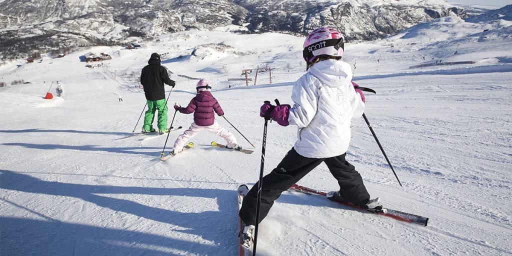 Skiing in Norway - Hemsedal