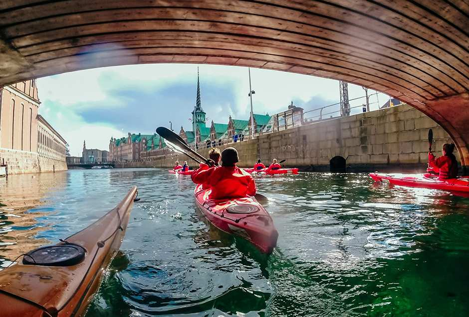 While in Copenhagen, rent a kayak