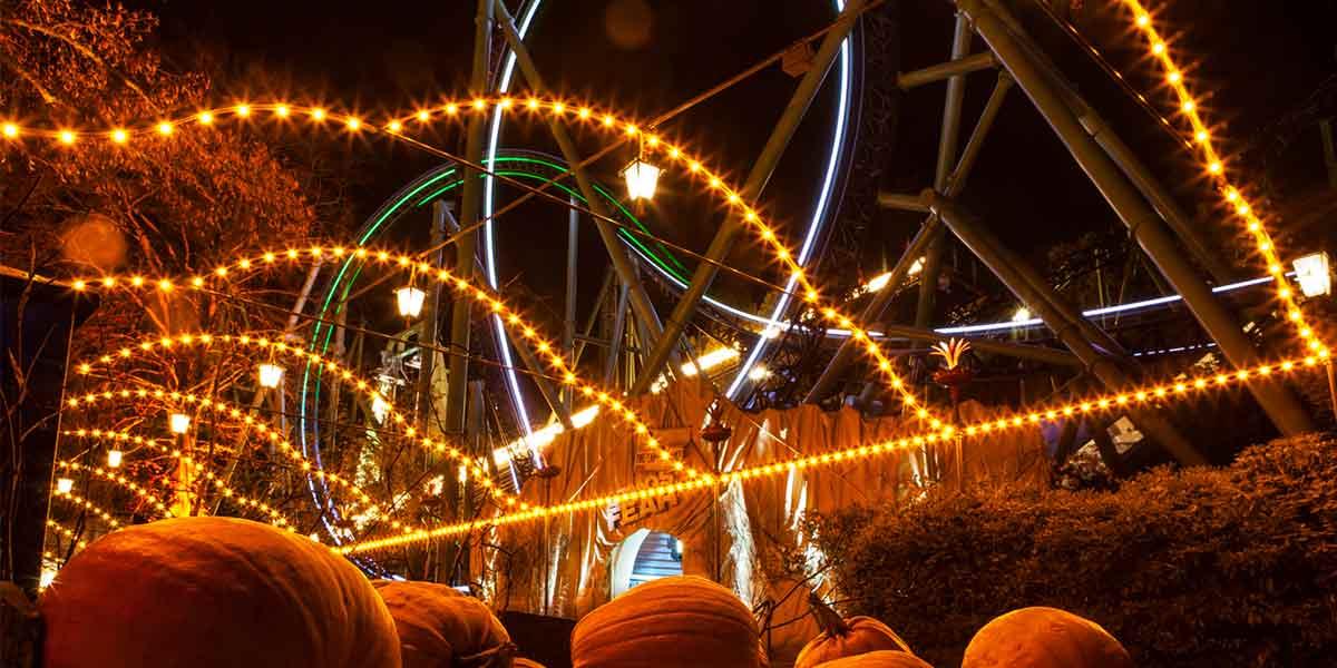 Halloween in Gothenburg - Liseberg Park