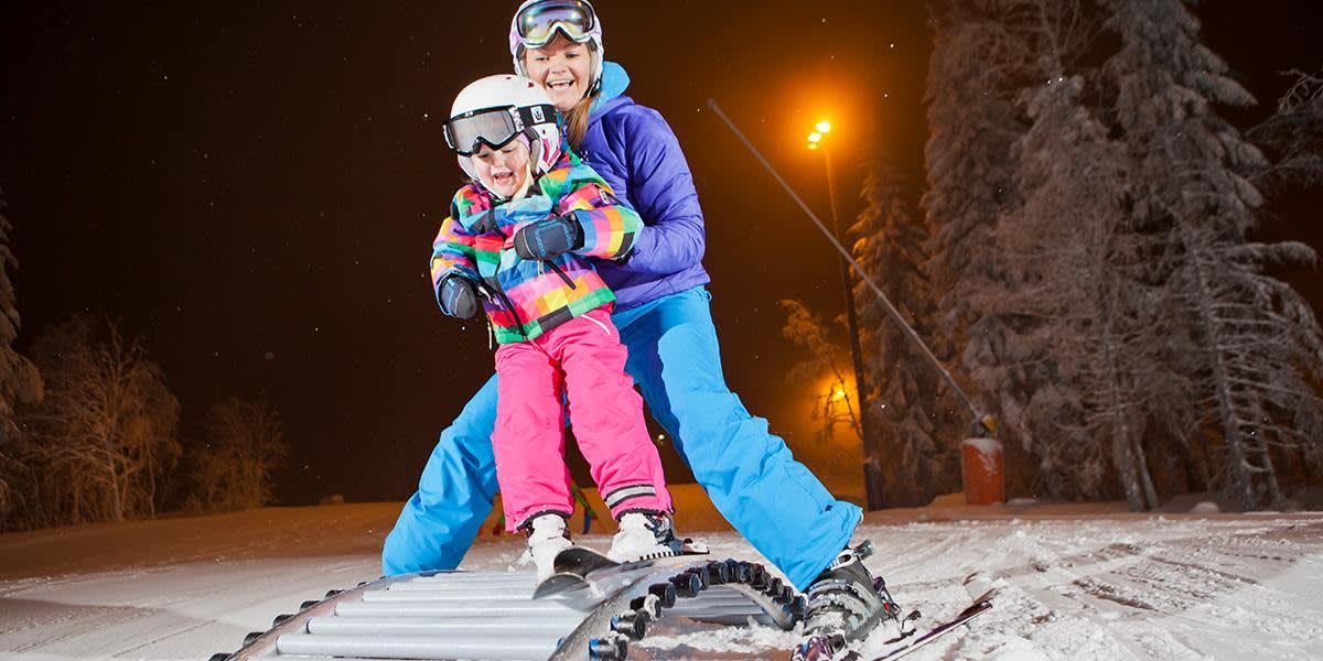 Oslo winter park - fun