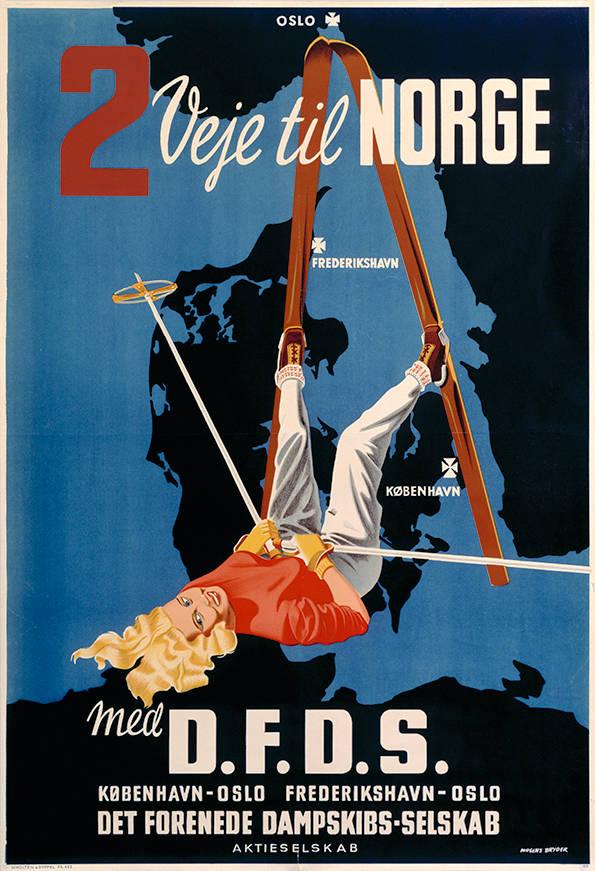 008 Poster tradition, 2 veje til Norge