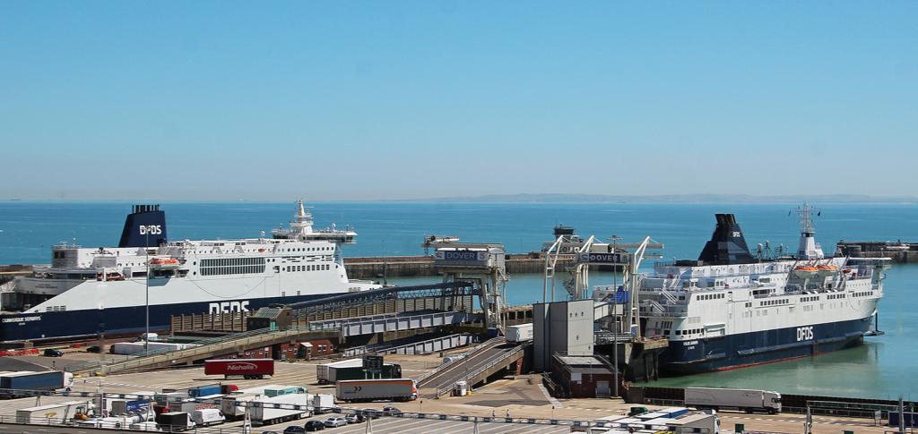 Dover ferries Aug 2020