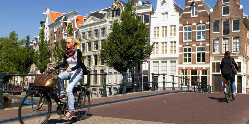 Bicycles in Amsterdam, Holland. Image credit: NBTC