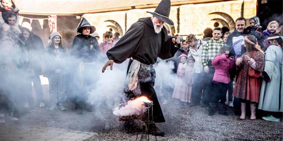 A magic experience at Alnwick Castle