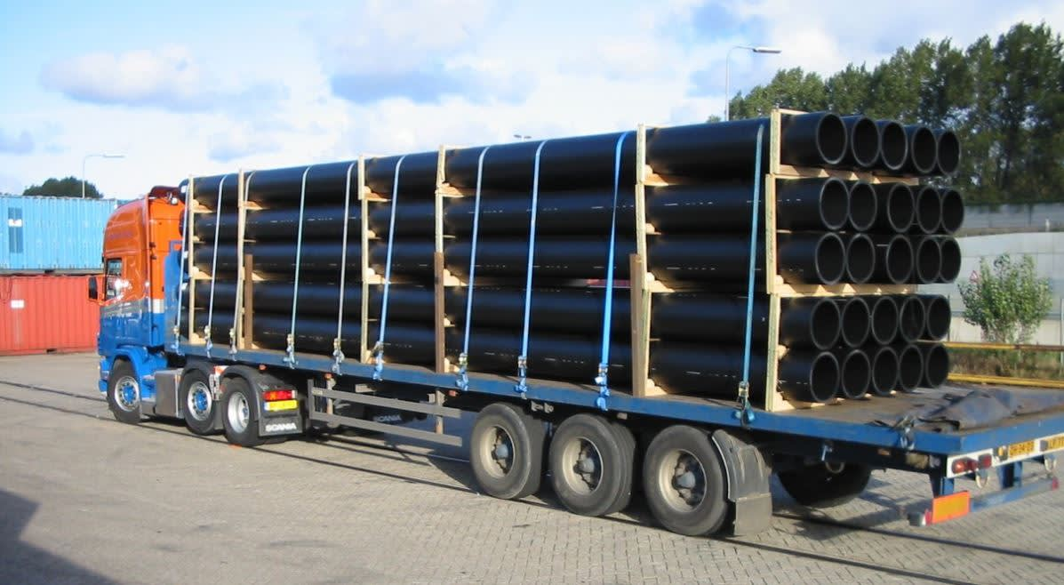 Alphatrans pipes special cargo