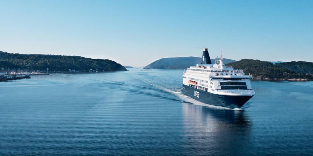 Pearl Seaways på vej inn Oslofjorden