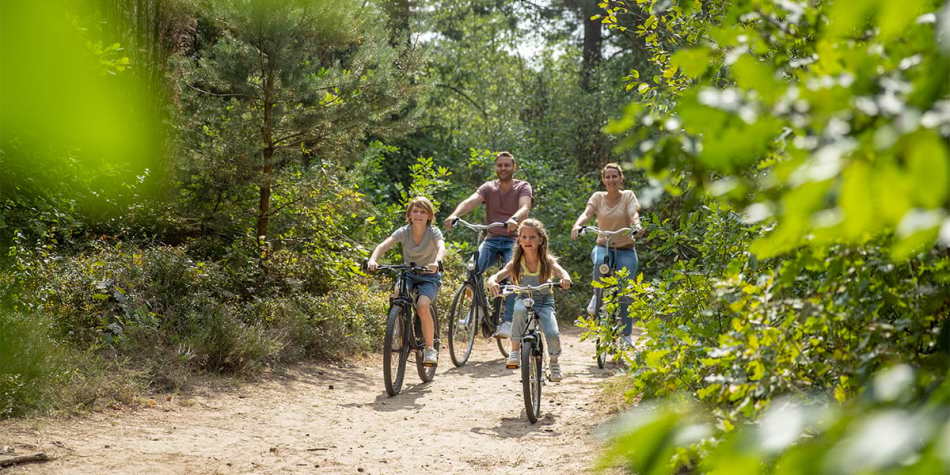 Cycling at Center Parcs