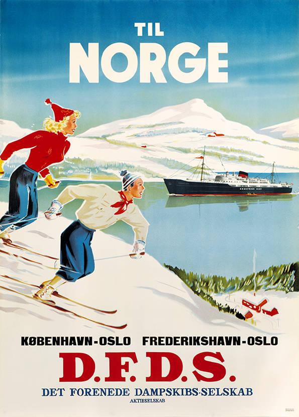 car-018 Poster tradition, Til Norge