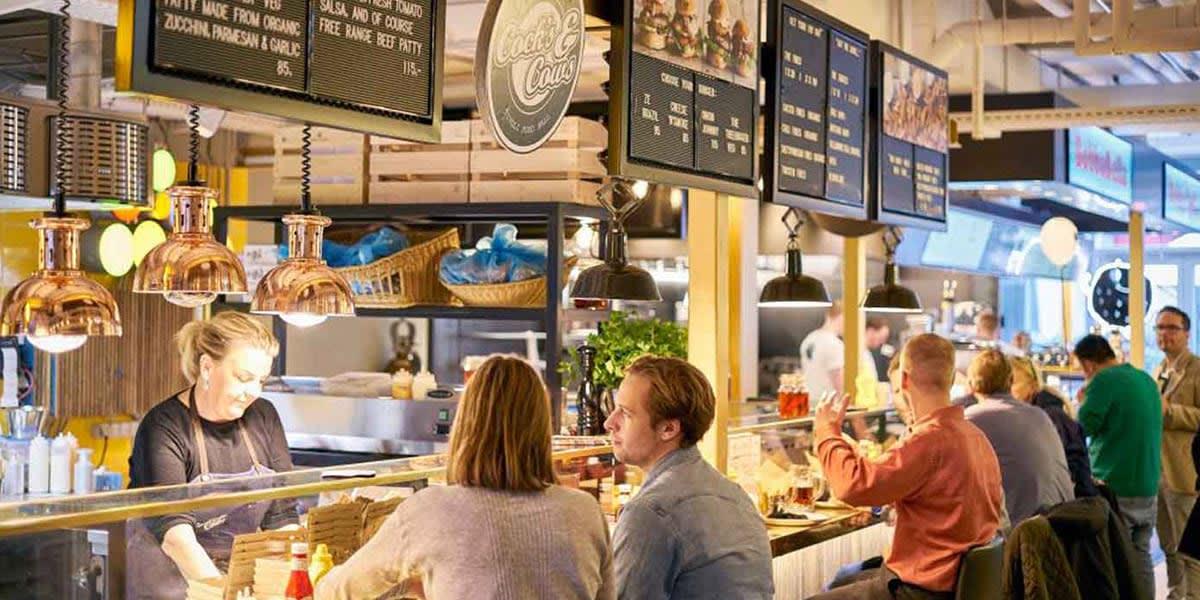 Food hall in Tivoli