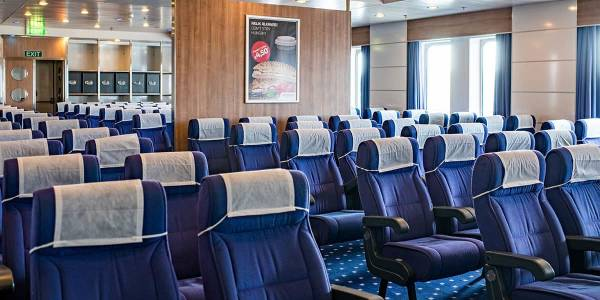 Reclining seats lounge - Regina ferry