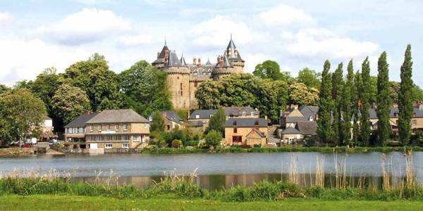 Combourg Castle in Great Brittany