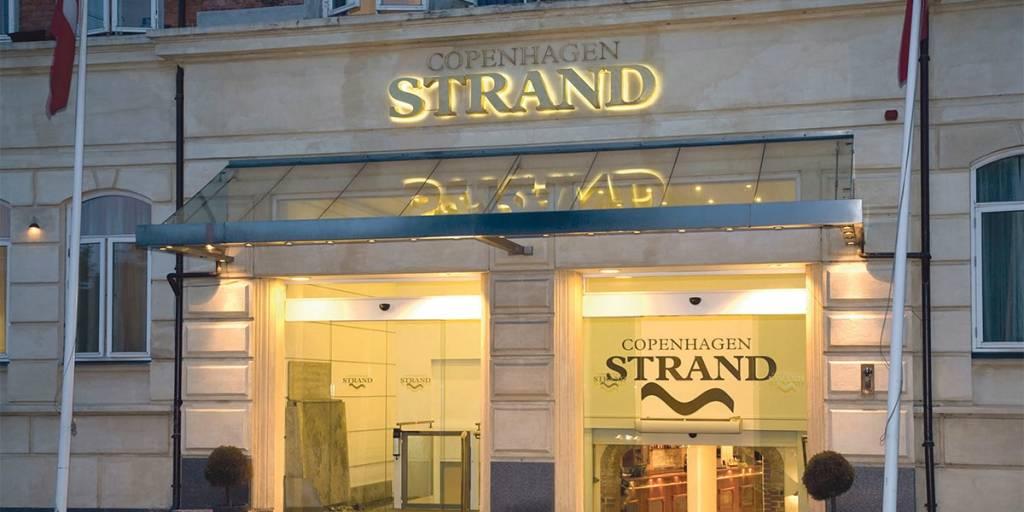 Copenhagen Strand hotel - Fasade
