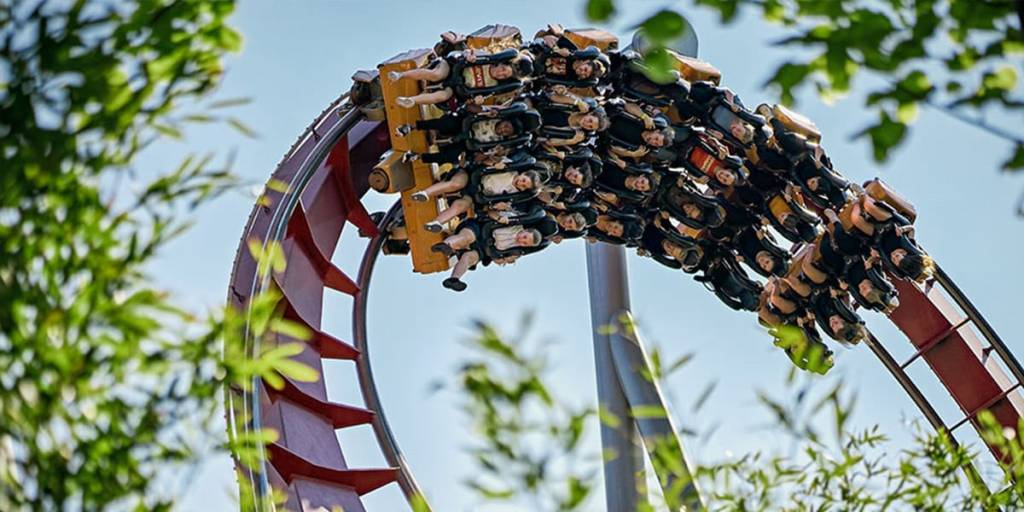rollercoaster tivoli copenhagen