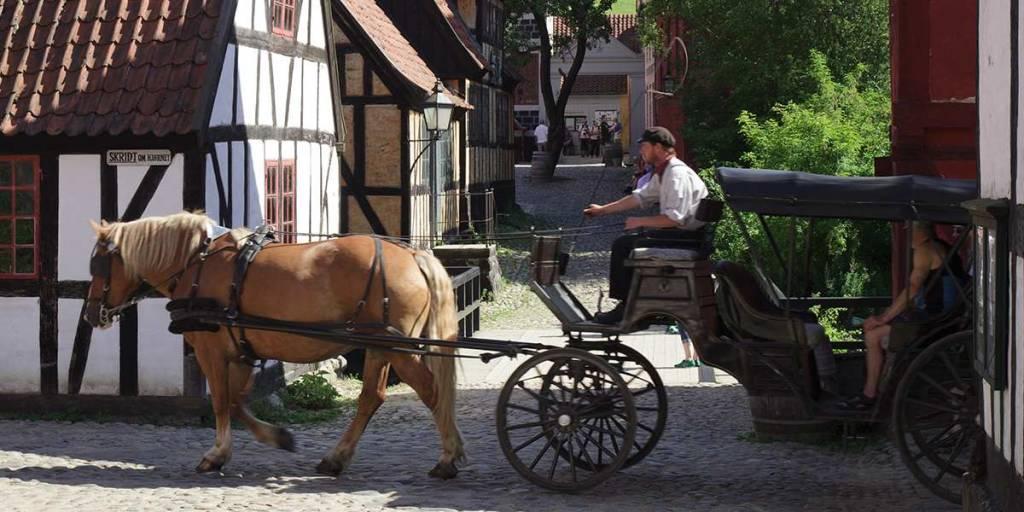 Aarhus - Visitdenmark -  den gamle by Photocredit Kim Wyon