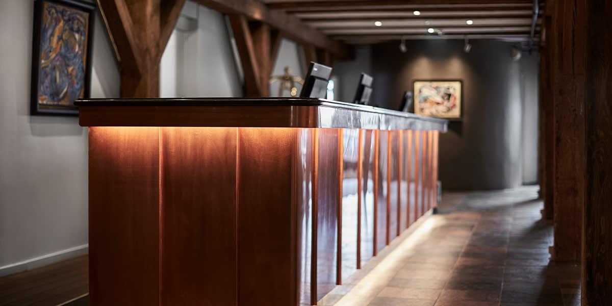 71 Nyhavn hotel  - resepsjon
