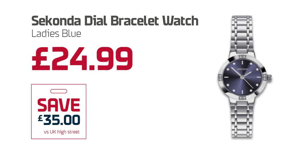 EC Duty Free Q3 - Sekonda Dial Bracelet Watch