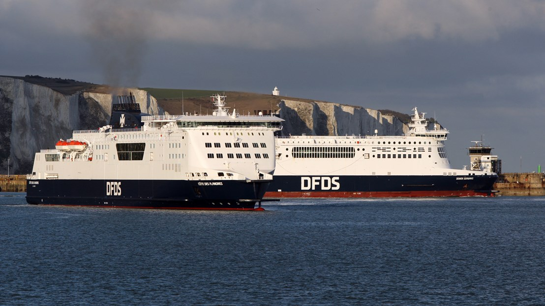 DFDS Vessels on the UK France route