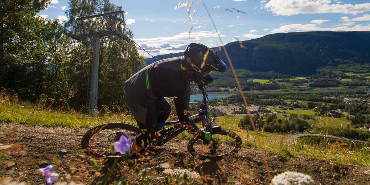 active holiday - biking in Hafjell - Norway - photo credit Michael Stolic