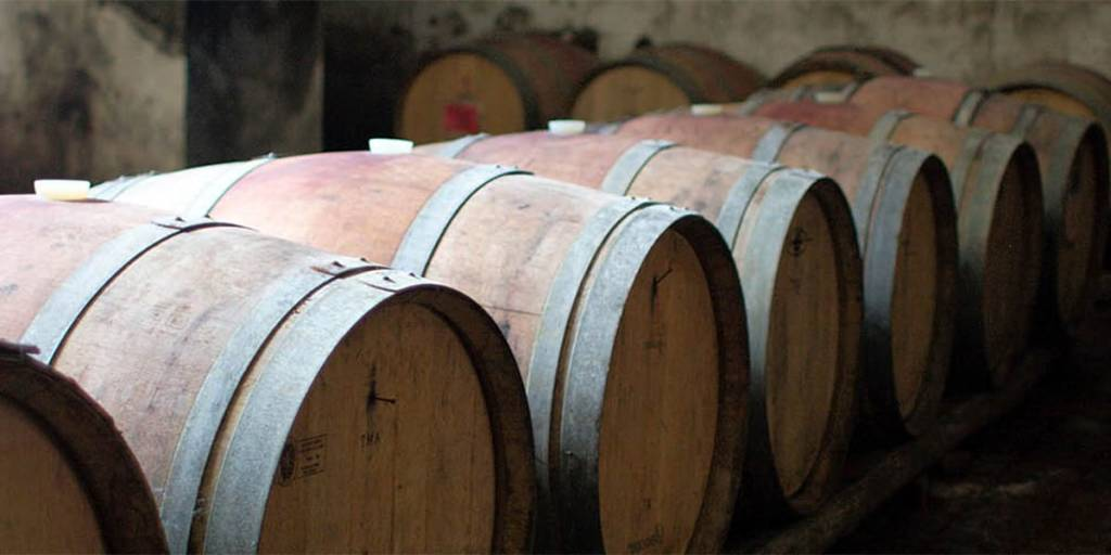 Wine in Belgium - wine barrels
