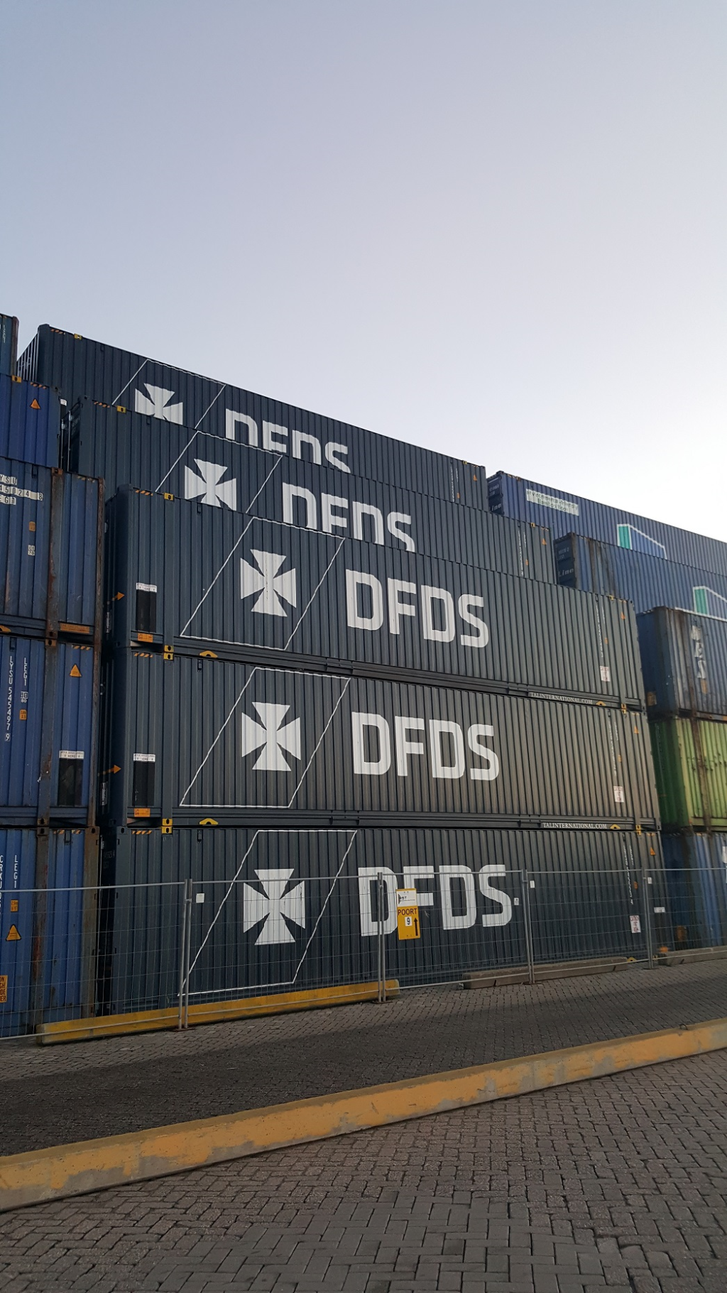 DFDS containers media library