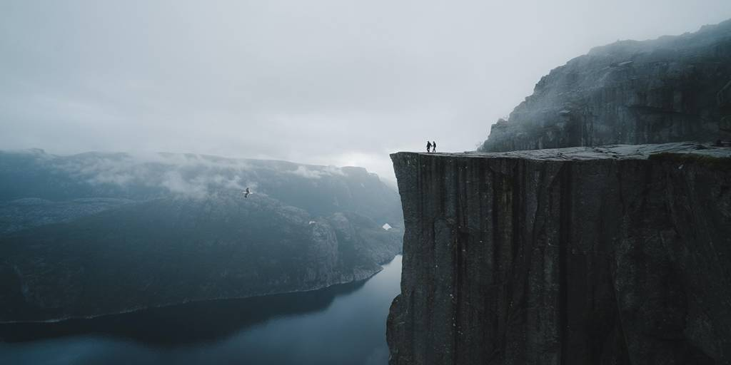 Norway, Preikestolen
