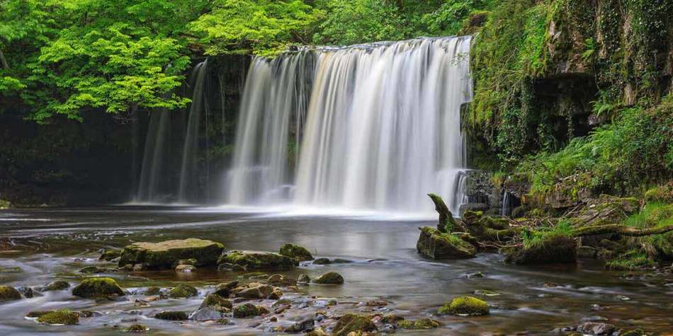 Waterfall in Wales