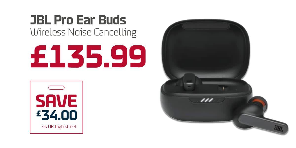EC Duty Free Q3 - JBL Pro Ear Buds