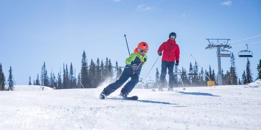 Kvitfjell - alpin skiing