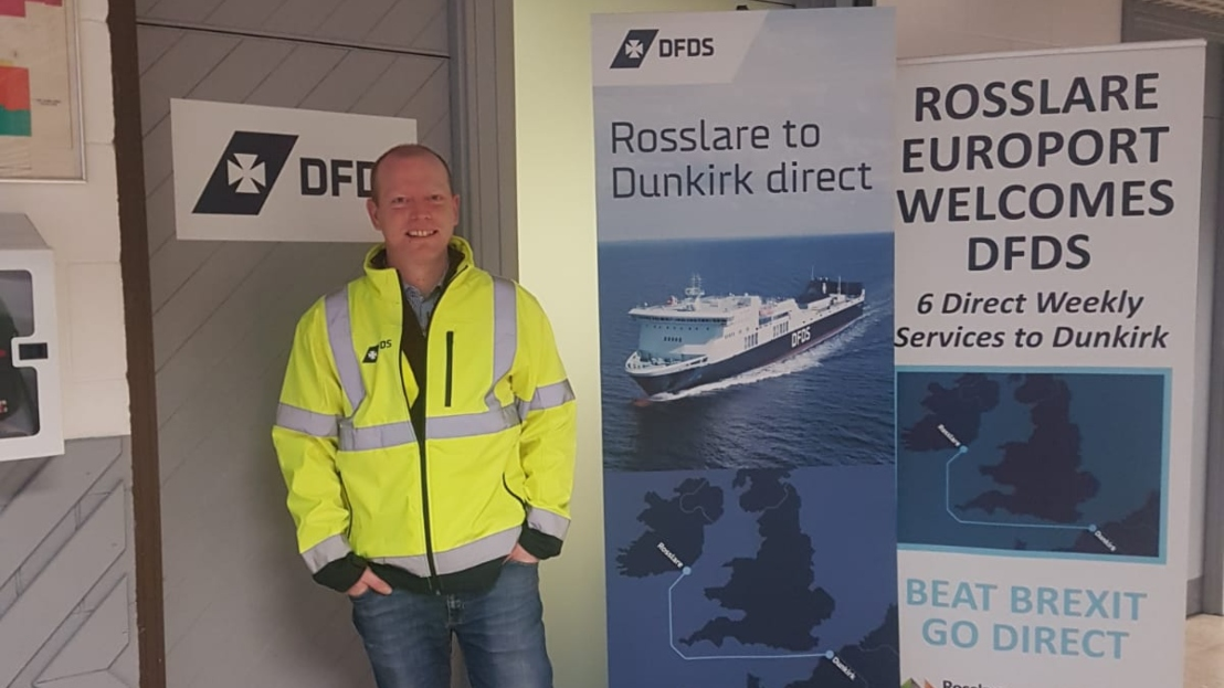 Dwain Rodgers Port Opps Manager in Rosslare