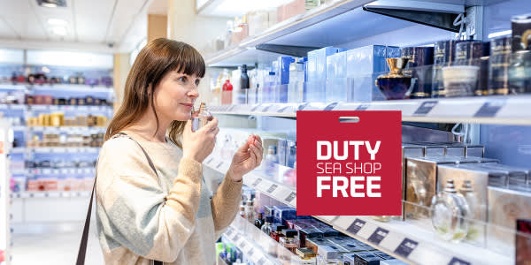 Duty free sea shop